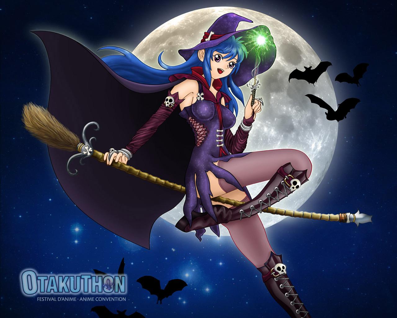 Blue bikini teen halloween