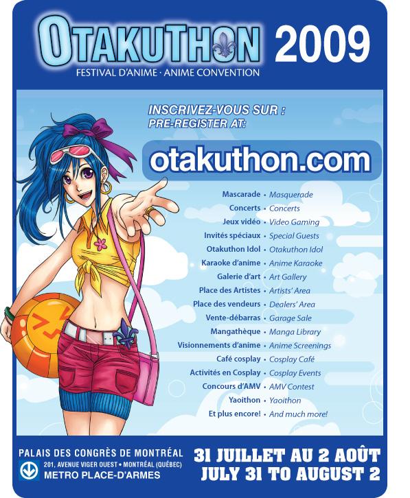 Advertising Otakuthon 2009