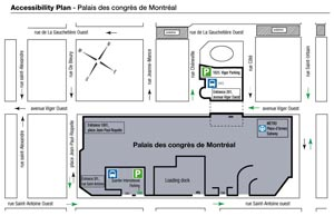 PDC Parking Map