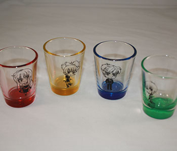 Otakuthon Party glasses