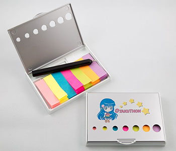 Sticky Notes with case